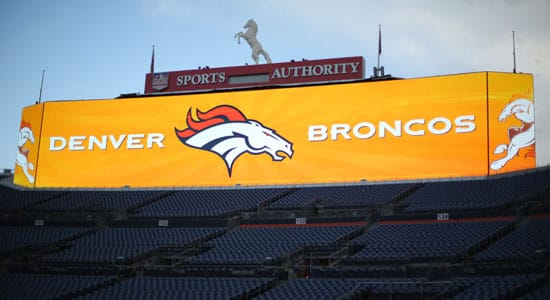 New scoreboard at Sports Authority Stadium at Mile High. (Denver Broncos)