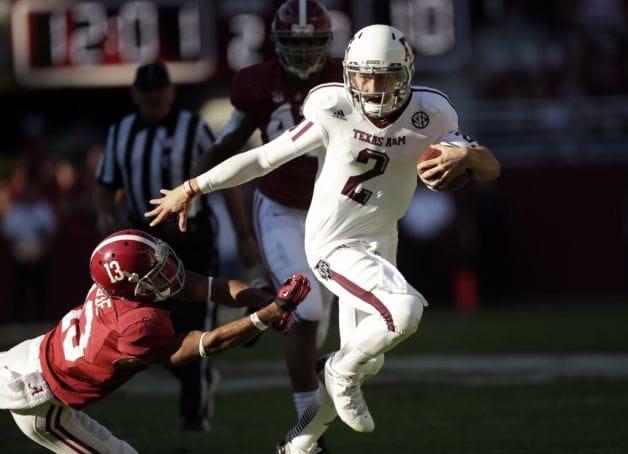 Johnny Manziel burst onto the national scene last year in an upset win at Alabama.