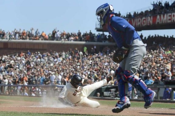 The Giants and Cubs recently completed a series that captured by Gigapixel technology and allowed any fan attending to tag themselves in the full stadium photo. (Scot Tucker/SFBay)