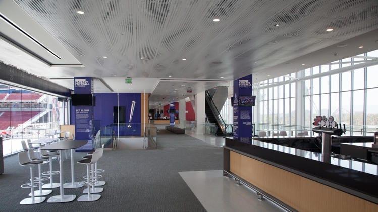 yahoo fantasy football lounge levis stadium nfl technology 49ers