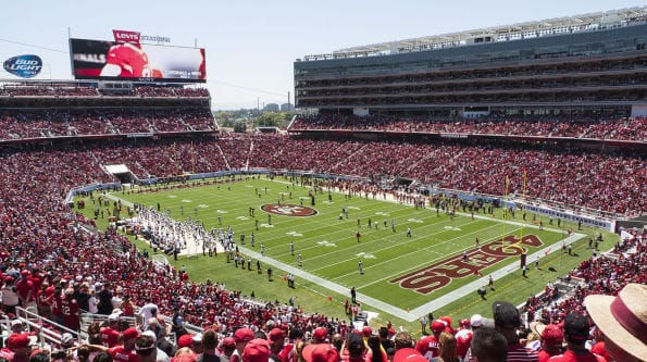 While the 49ers have address many off-the-field concerns, fan safety at the games has not gathered as much public attention. (Wikipedia Commons)