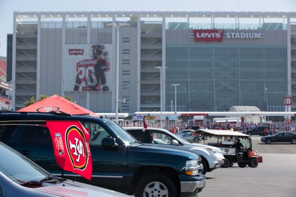 While the primary focus is usually on the in-stadium incidents, the fan experience and safety concerns begin before you even set foot in Levi's Stadium or any venue across the country. (Wikipedia Commons)