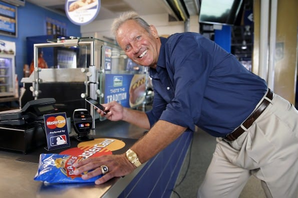 MasterCard Introduces ApplePay at Kauffman Stadium tonight for Game 1 of the 2014 World Series.