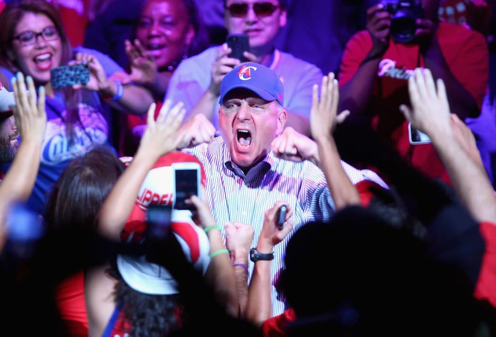 Steve-Ballmer-Clippers-Owner second spectrum nba tech