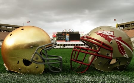 notre dame florida state college football technology catapult sports