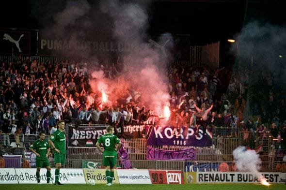 Ferencvaros and Ujpest football technology