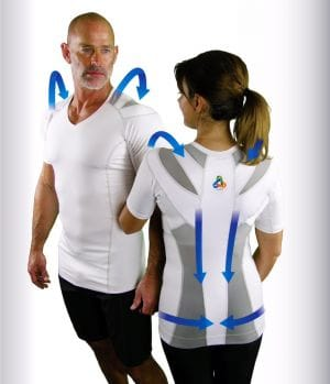 Posture Shirt pic 2 people