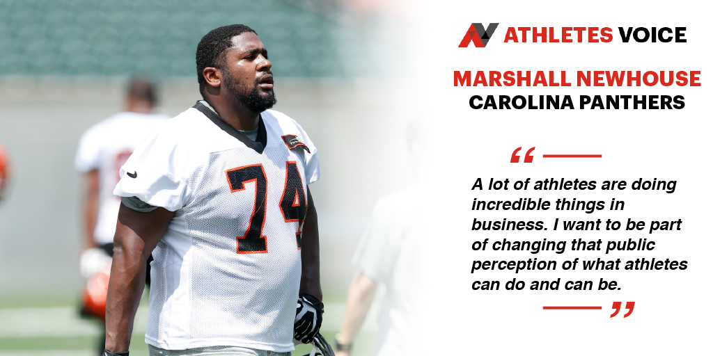 Marshall Newhouse takes a break during OTAs.