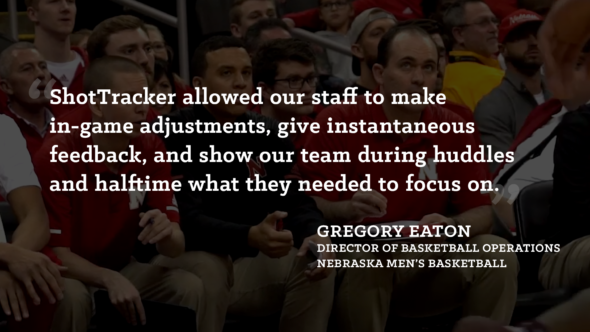 Nebraska Director of Basketball Operations Gregory Eaton