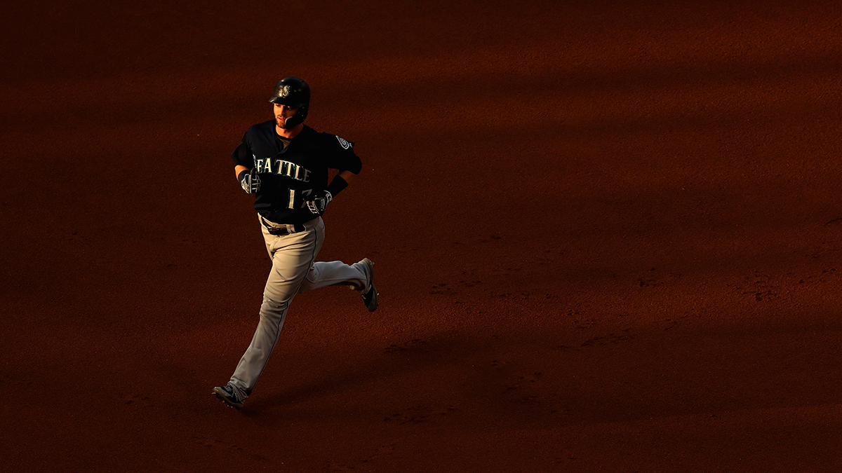 By August of the next season, he was in the big leagues. (Sean M. Haffey/Getty Images)