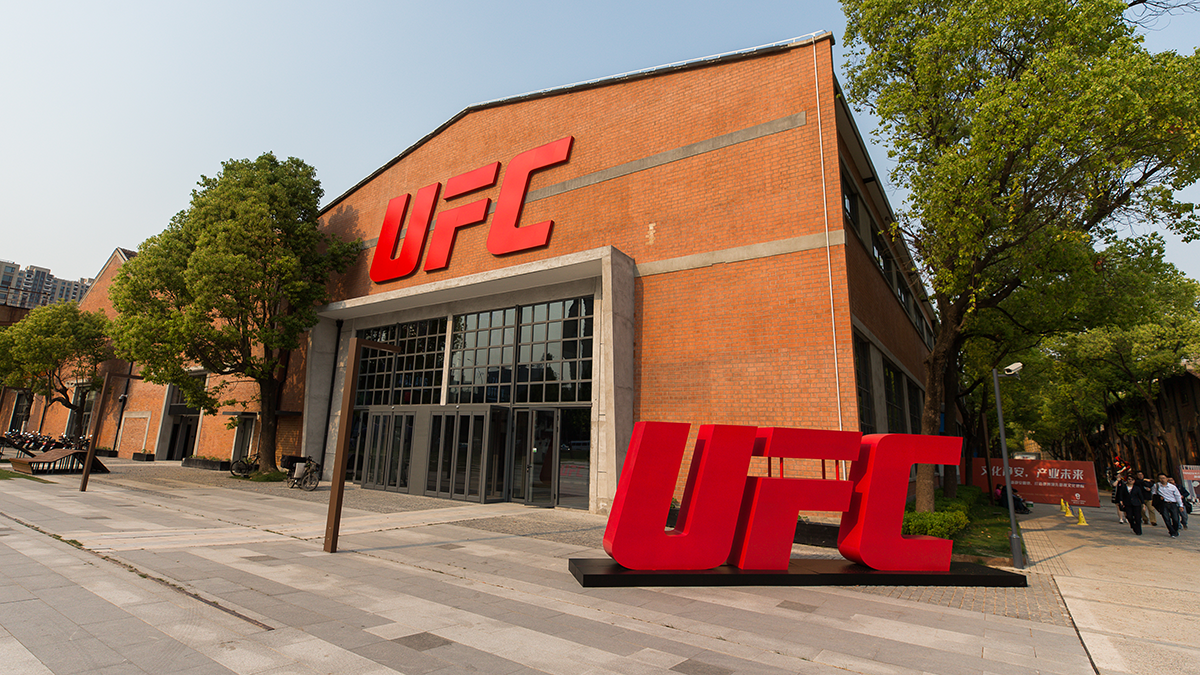Photos of the UFC Performance Institute in Shanghai (All photos courtesy of the UFC)